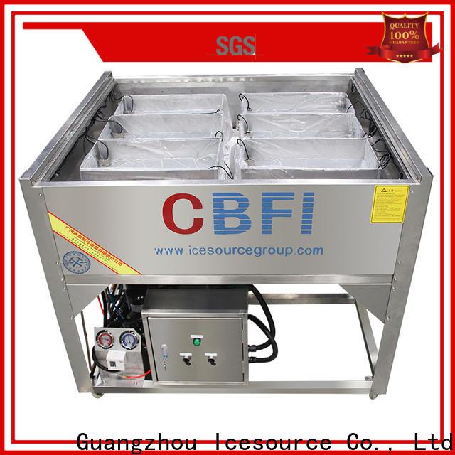 CBFI professional tube ice manufacturing vendor for wine cooling