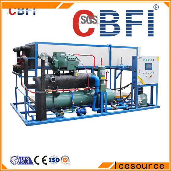 CBFI direct ice machine compressor free design for vegetable storage