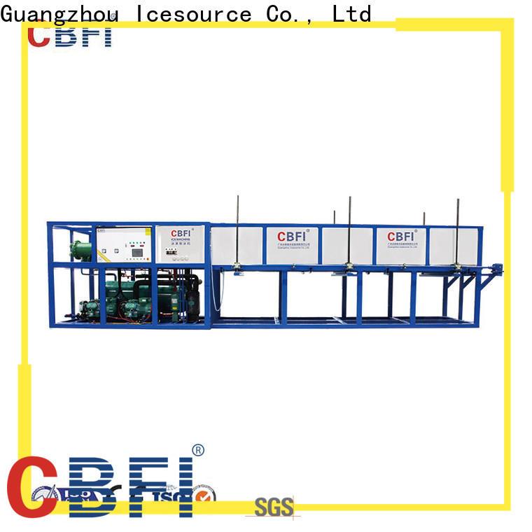 CBFI ice servend ice machine supplier for freezing