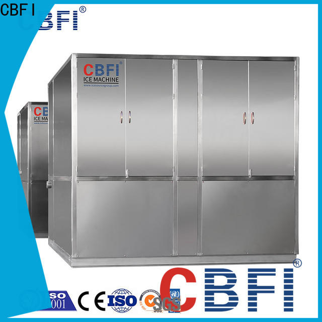 CBFI clean plate ice maker at discount for ball ice making
