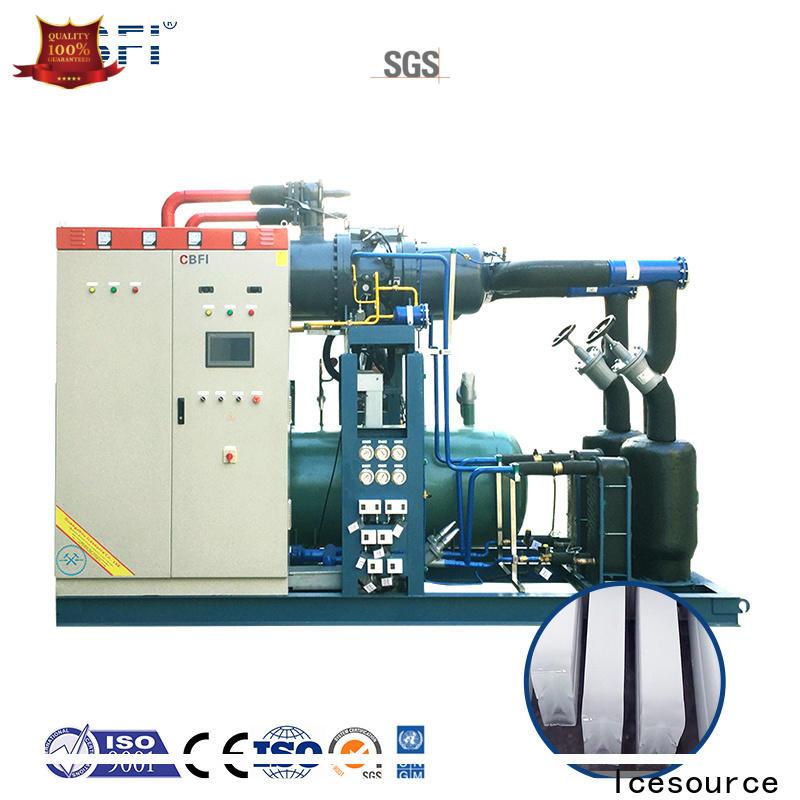 clean tubular ice maker bulk production for cooling
