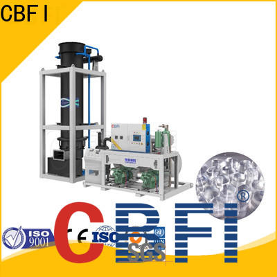 CBFI good looking ice tube maker machine price new design for fruit preservation