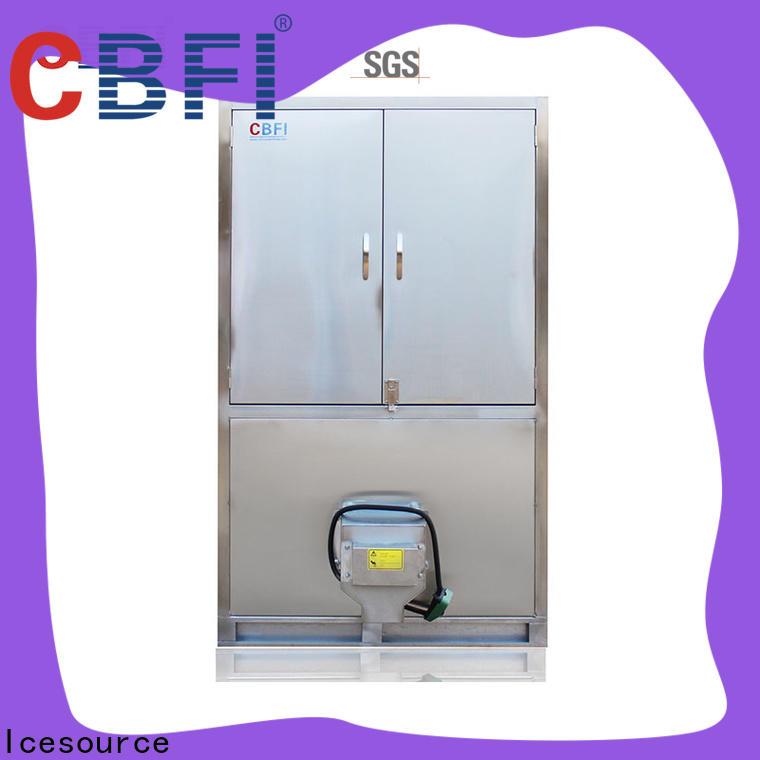 CBFI automatic cube ice maker machine supplier for fruit storage