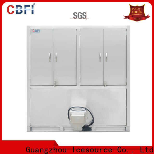 CBFI long-term used ice cube machine for sale free design for fruit storage