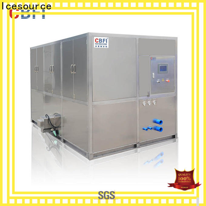 CBFI high-quality industrial ice cube machine factory price for fruit storage
