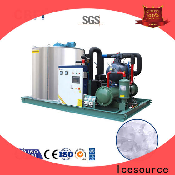 CBFI tons industrial flake ice machine for aquatic goods