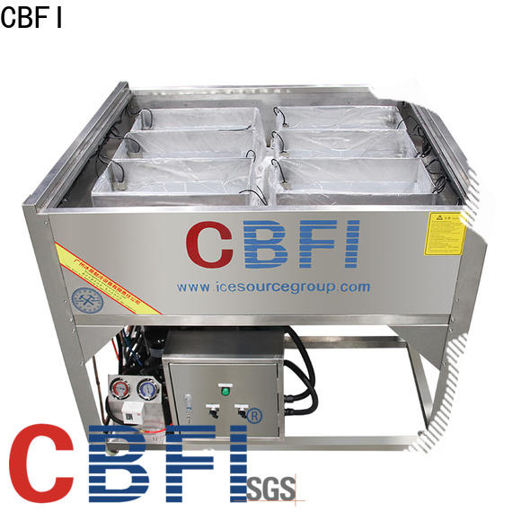 CBFI sphere Pure Ice Machine certifications for wine cooling