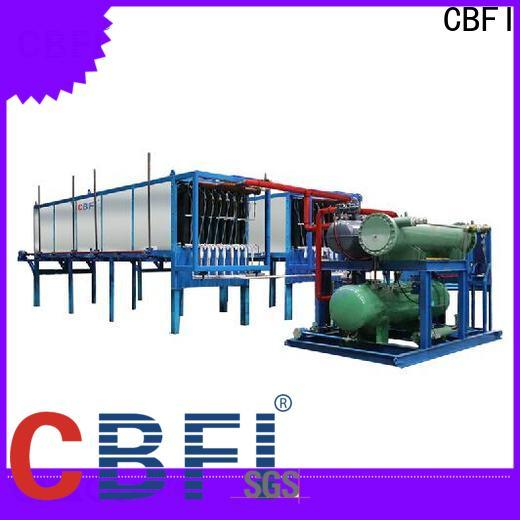 CBFI ice direct cooling block ice machine manufacturer for vegetable storage