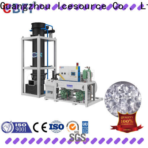 CBFI tons ice machine supplier export for edible usage