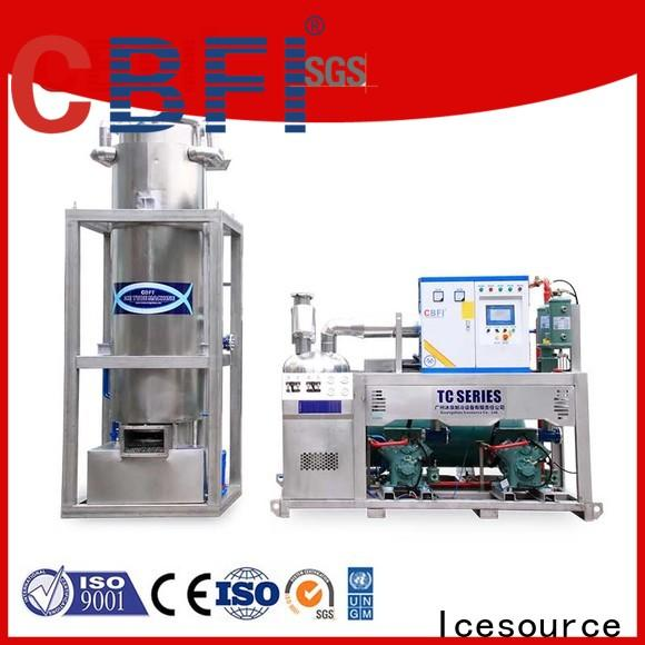 commercial tube ice producer for ice making