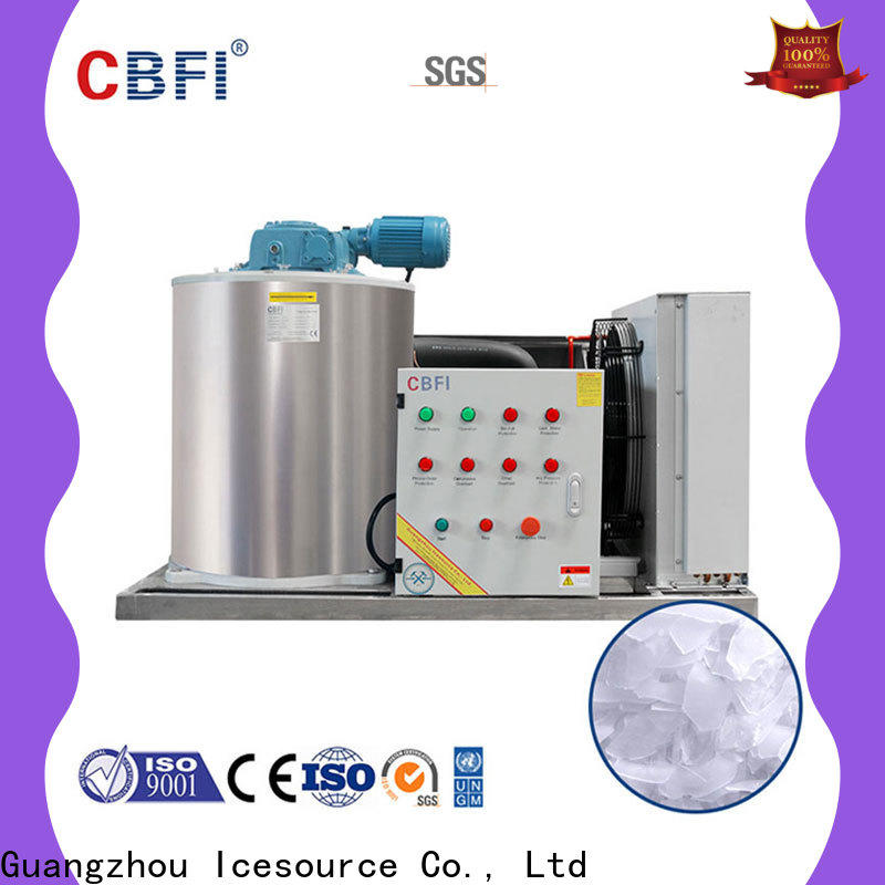 CBFI high-quality industrial flake ice machine long-term-use for restaurant