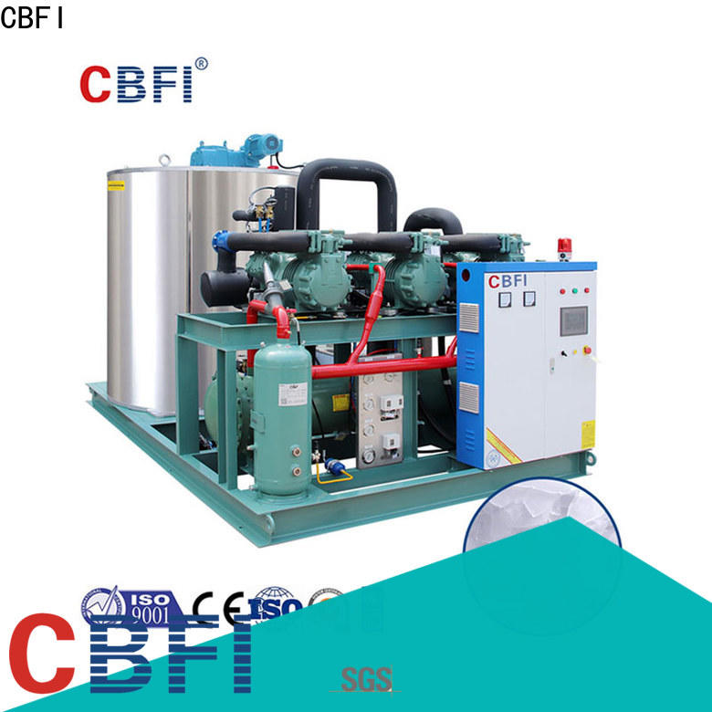 CBFI newly flake ice making machine price supplier for water pretreatment