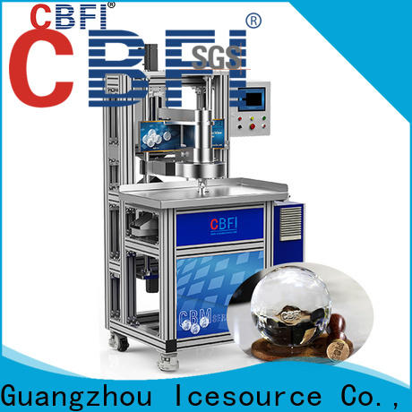 CBFI easy to use italian water ice machine for wholesale for cocktail
