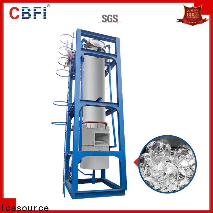 CBFI making tubular ice range for concrete cooling