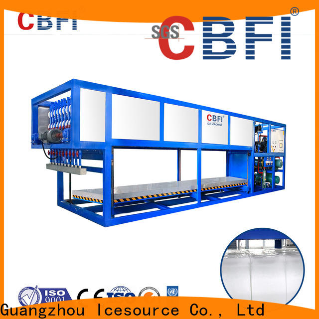 CBFI block ice maker plant factory price for fruit storage