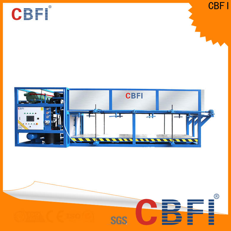 CBFI tons ice maker plant customized for vegetable storage