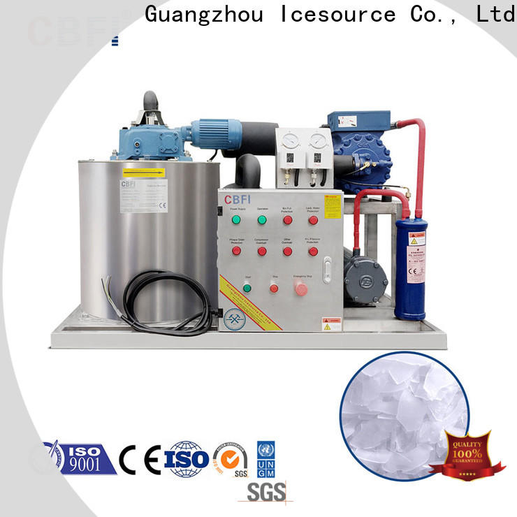 CBFI concrete ice flaker machine price certifications for ice making