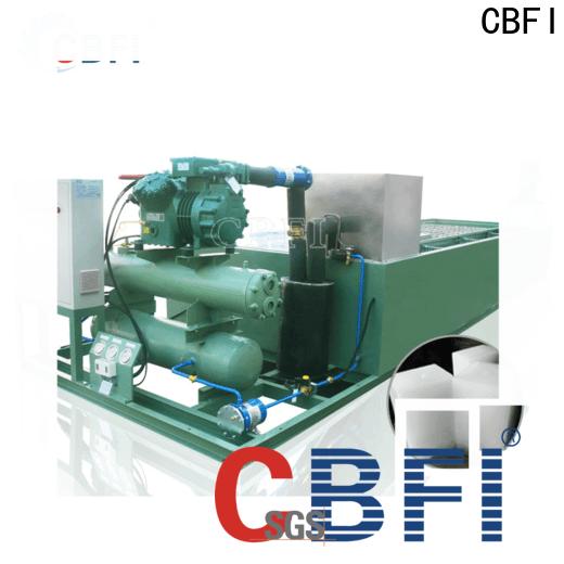CBFI high-quality automatic ice block machine free design for freezingg