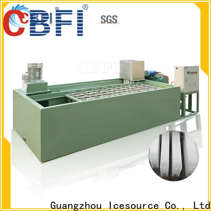 CBFI automatic ice block machine in china for cold drink