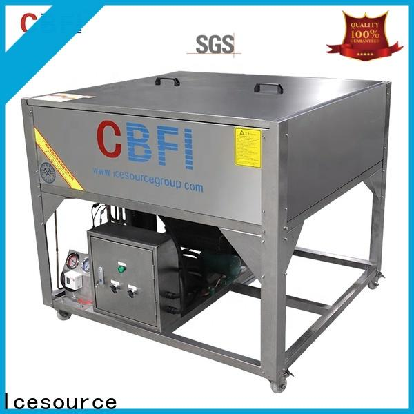 CBFI nugget clear ice maker at discount for ice bar