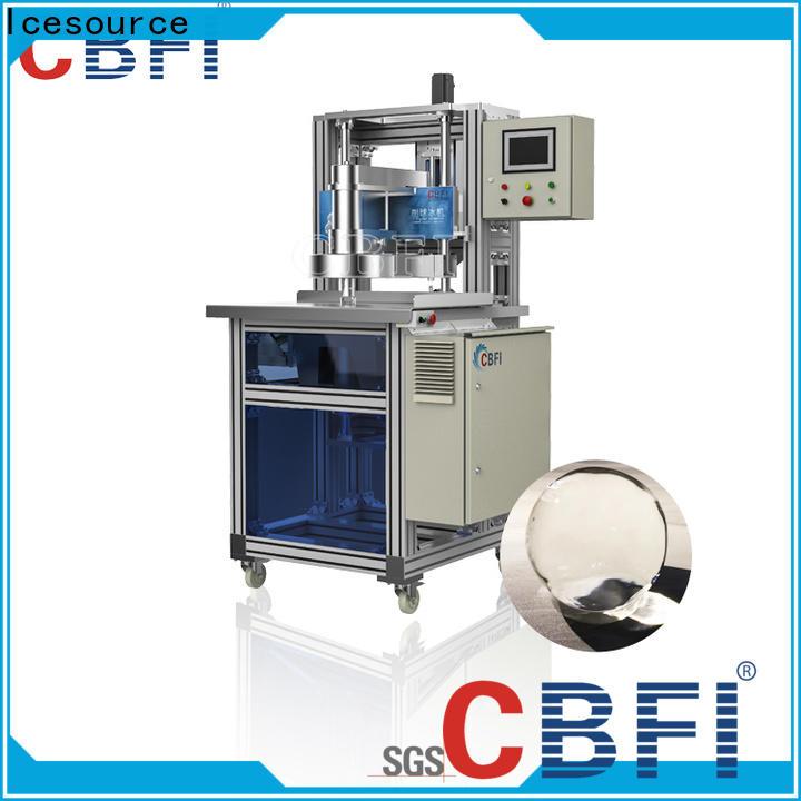 CBFI ball ice machine free quote for high-end wine