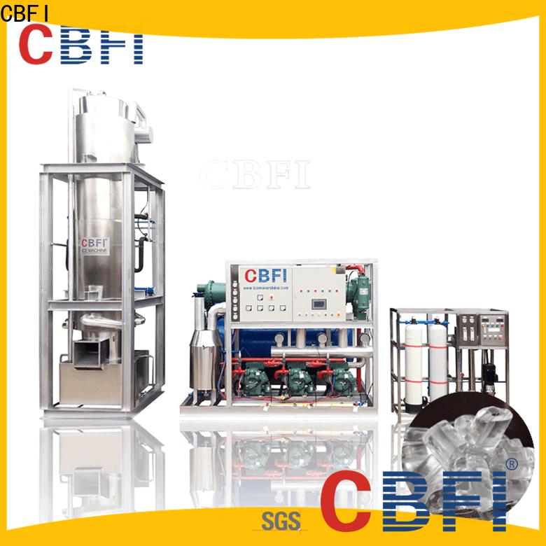CBFI ice machines at discount for ice sculpture