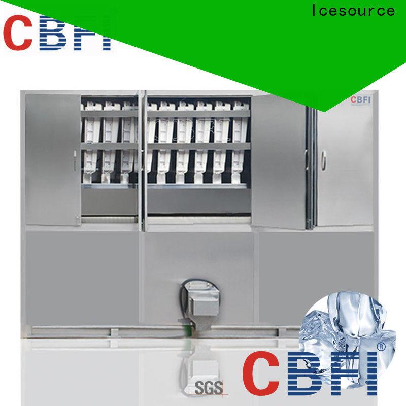 CBFI competetive price large ice cube maker free design for wholesale