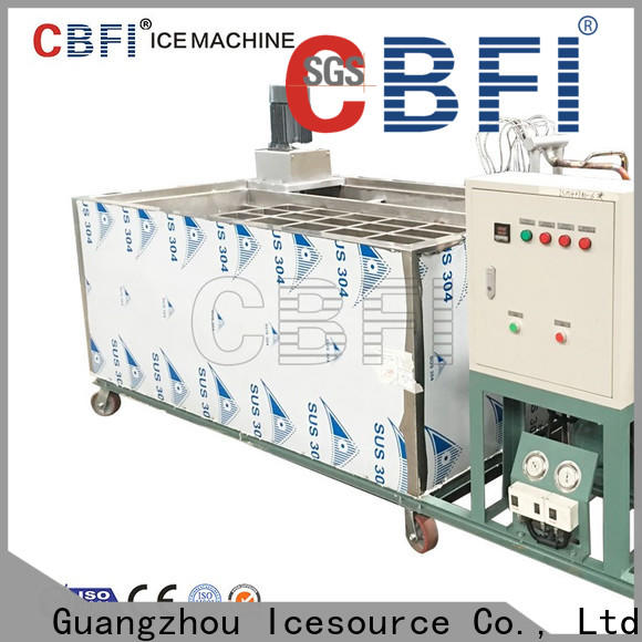 CBFI high technique commercial block ice maker free quote for ice bar