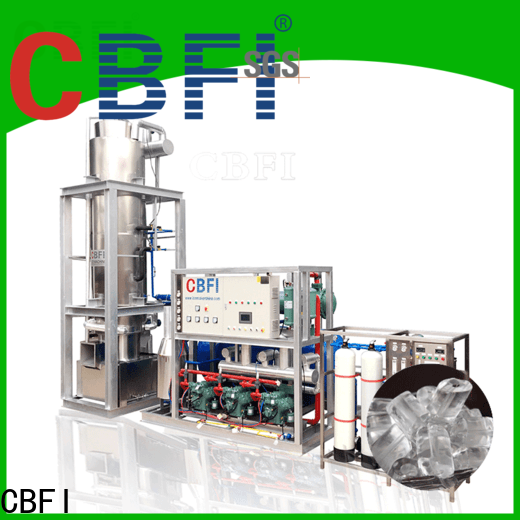 CBFI ice tube machine for sale check now for ice bar