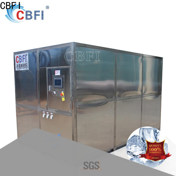 CBFI easy to use square cube ice maker from manufacturer factory price