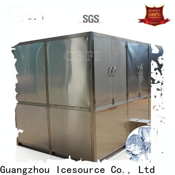 CBFI advanced technology clear ice cube maker type plant