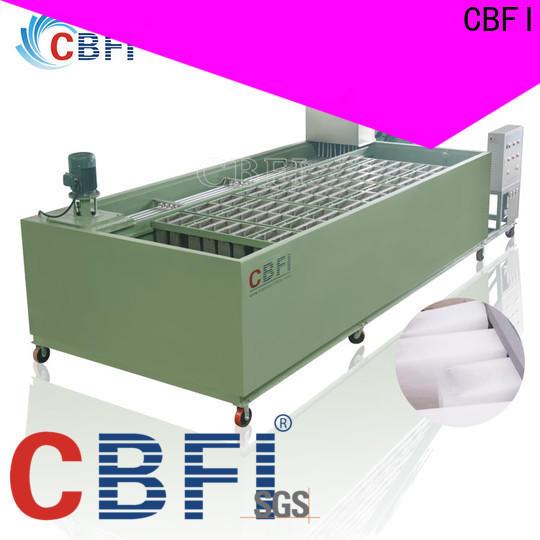 CBFI durable clear ice block maker long-term-use for ice bar