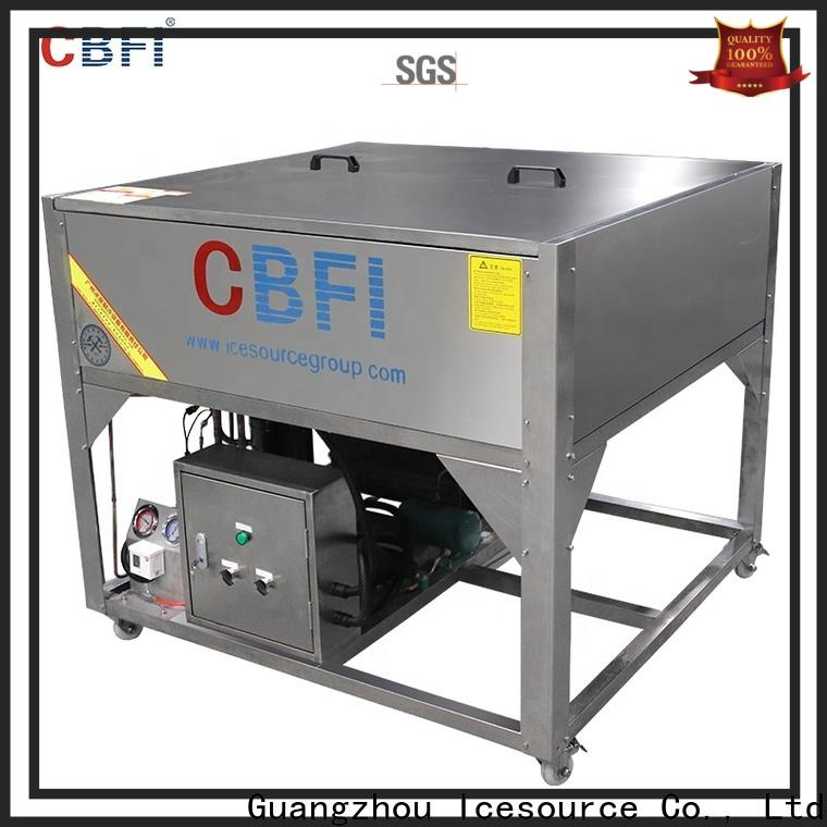 CBFI ton clear ice maker type for high-end wine