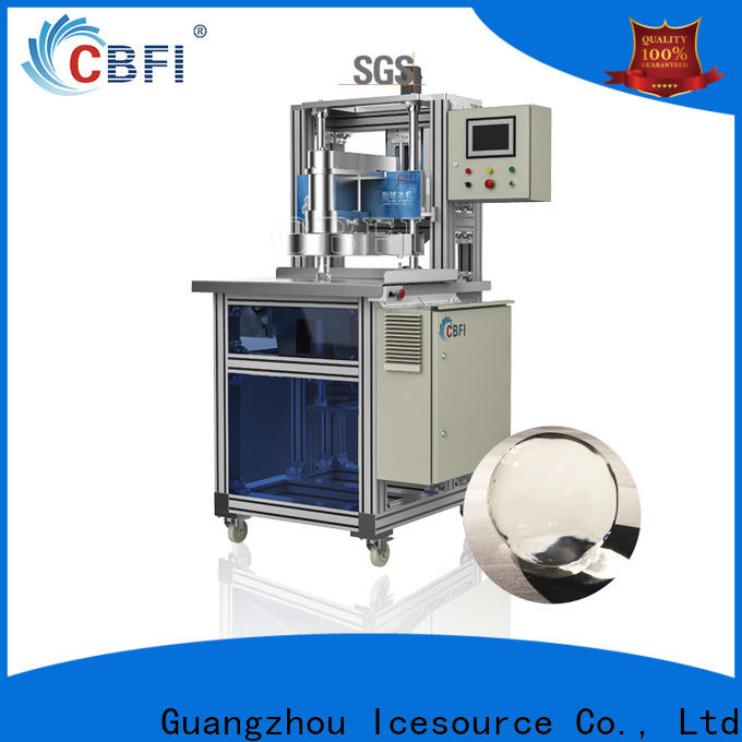 CBFI commercial ice ball maker free quote for ice sculpture