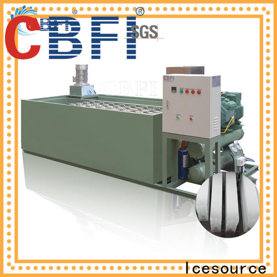 CBFI clear ice block maker free quote for ice sculpture