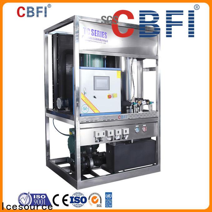 CBFI high-quality ice crusher machine free design for aquatic goods