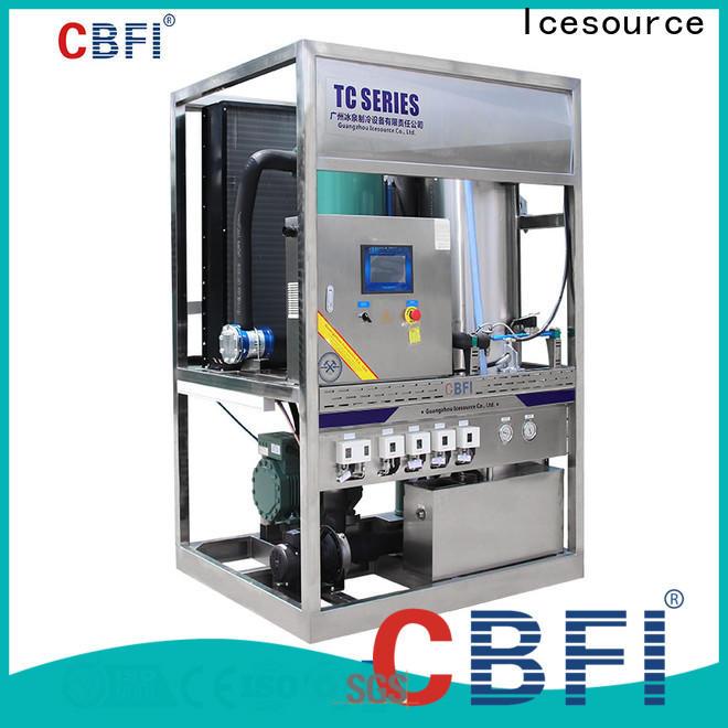 CBFI tube ice machine for sale bulk production for wine cooling