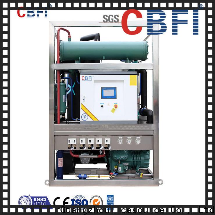 CBFI durable tube ice manufacturer for aquatic goods