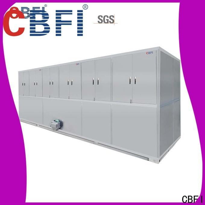 CBFI widely used cube ice maker machine customized for vegetable storage
