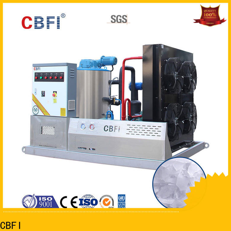CBFI seawater flake ice maker free quote for ice making