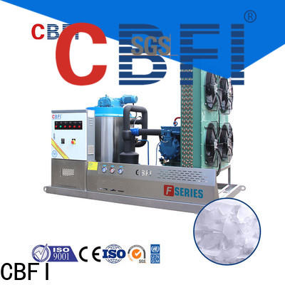 CBFI containerized ice flake vendor for cooling use