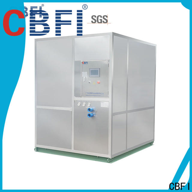 CBFI easy to use plate ice maker factory price for freezing