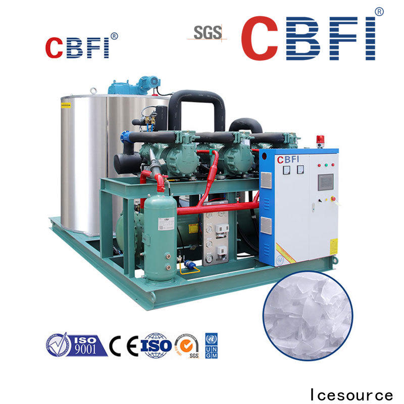 durable industrial flake ice machine seawater long-term-use for water pretreatment