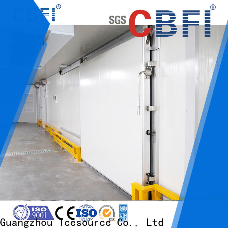 CBFI series outdoor ice maker factory for vegetable storage