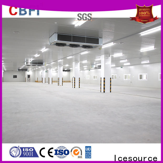 efficient ice maker drain series marketing for seafood