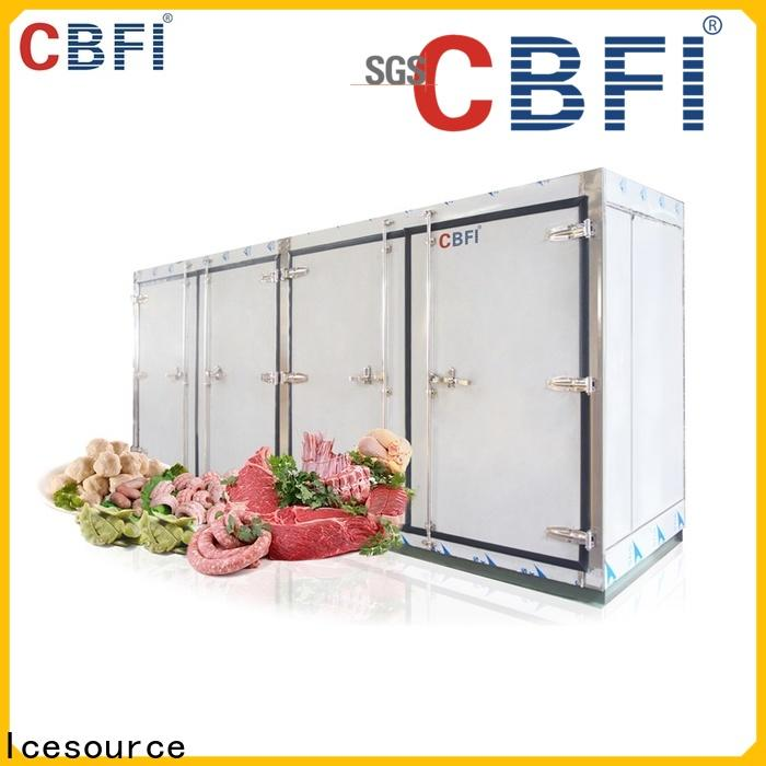 CBFI freezer clear ice makers free quote for water pretreatment