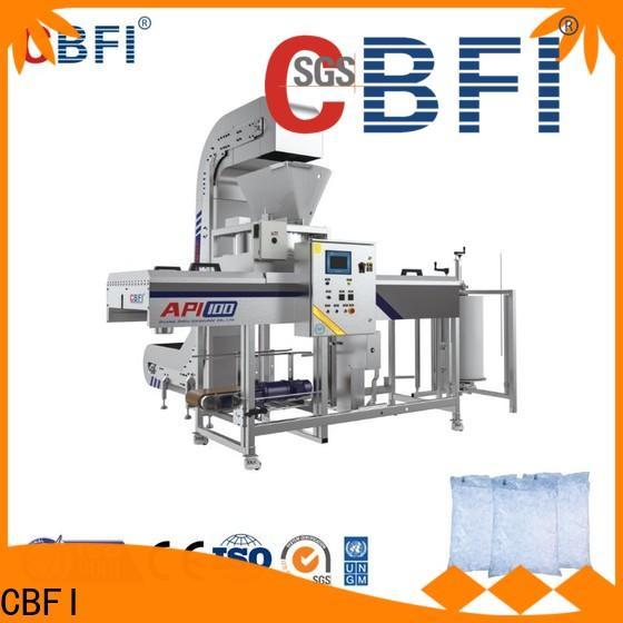 CBFI professional crescent ice maker supplier for ice sphere