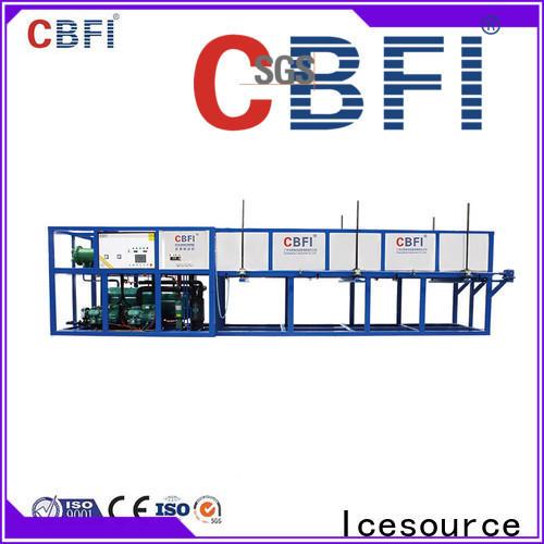 CBFI block direct cooling block ice machine factory for fruit storage