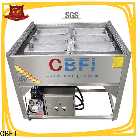 CBFI ice diy ice maker bulk production for wine cooling