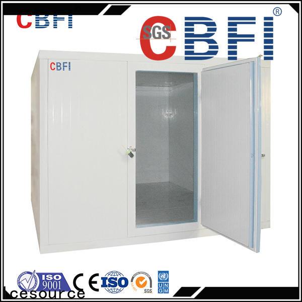 CBFI cold storage container range for vegetable storage